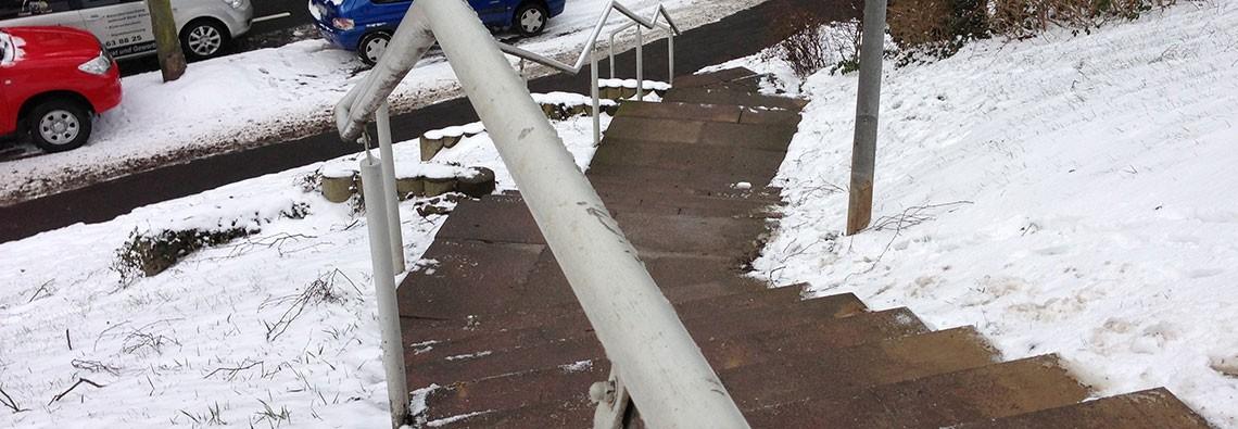 Winterdienst Schnee Räumen Mulheim Hausmeister